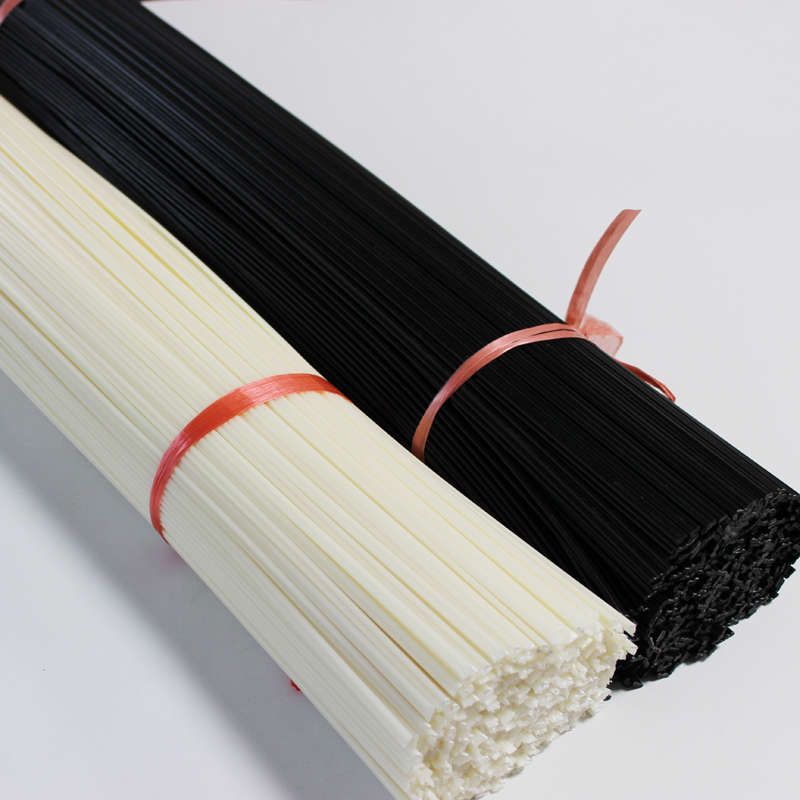 White/black Round 2.5 X 5.0mm PE Plastic Welding Rods Electrodes For Automotive Car Bumper Repair Welder Machine Sticks Tools