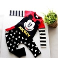 kids sets kids suits mickey set Cartoon set  Autumn Baby Kids Boys Cartoon Mickey Sport Tracksuits 2pcs Outfit Baby Clothes