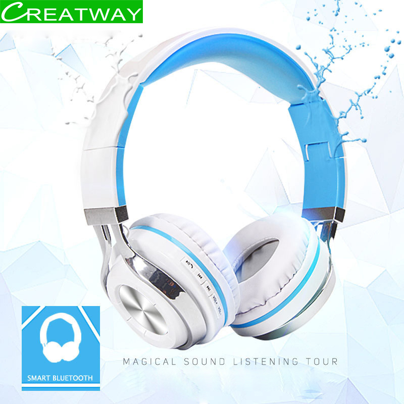 Bluetooth 4.2 Earphone Wireless Bluetooth Headset With Mic Noise Cancelling Headphone Stereo HIFI Bass Long Battery Life