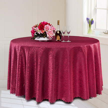 Classic Jacquard Round Table Cloth Polyester Fabric Square Dining Table  Cover For Hotel Office Wedding Booth Setting Tablecloth In Tablecloths From  Home ...