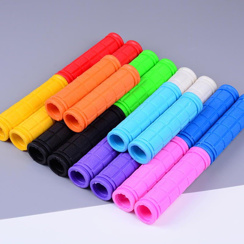 Rubber Bike Handlebar Grips Cover BMX MTB Mountain Bicycle Handles Anti-skid Bicycles Bar Grips Fixed Gear Parts