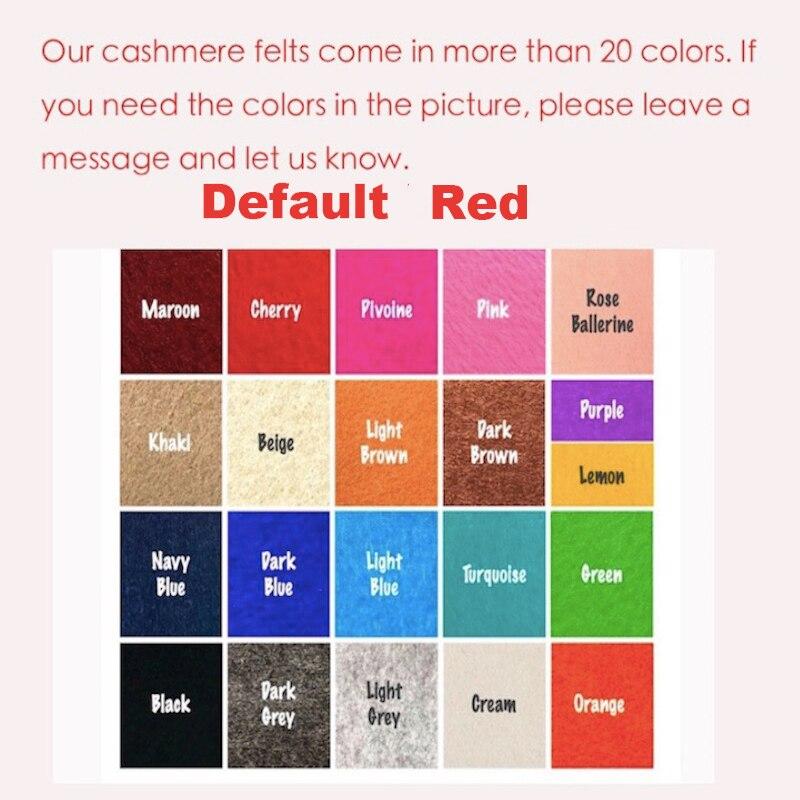 Купить с кэшбэком Fits Melie Purse Organizer Insert - 3MM Premium Felt (Handmade/20 Colors)