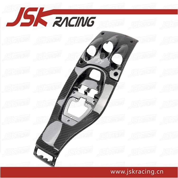 2011-2013 F1 STYLE CARBON FIBER GEAR SURROUND (2 PCS) FOR FERRARI 458 ITALIA (JSKFR5811067)