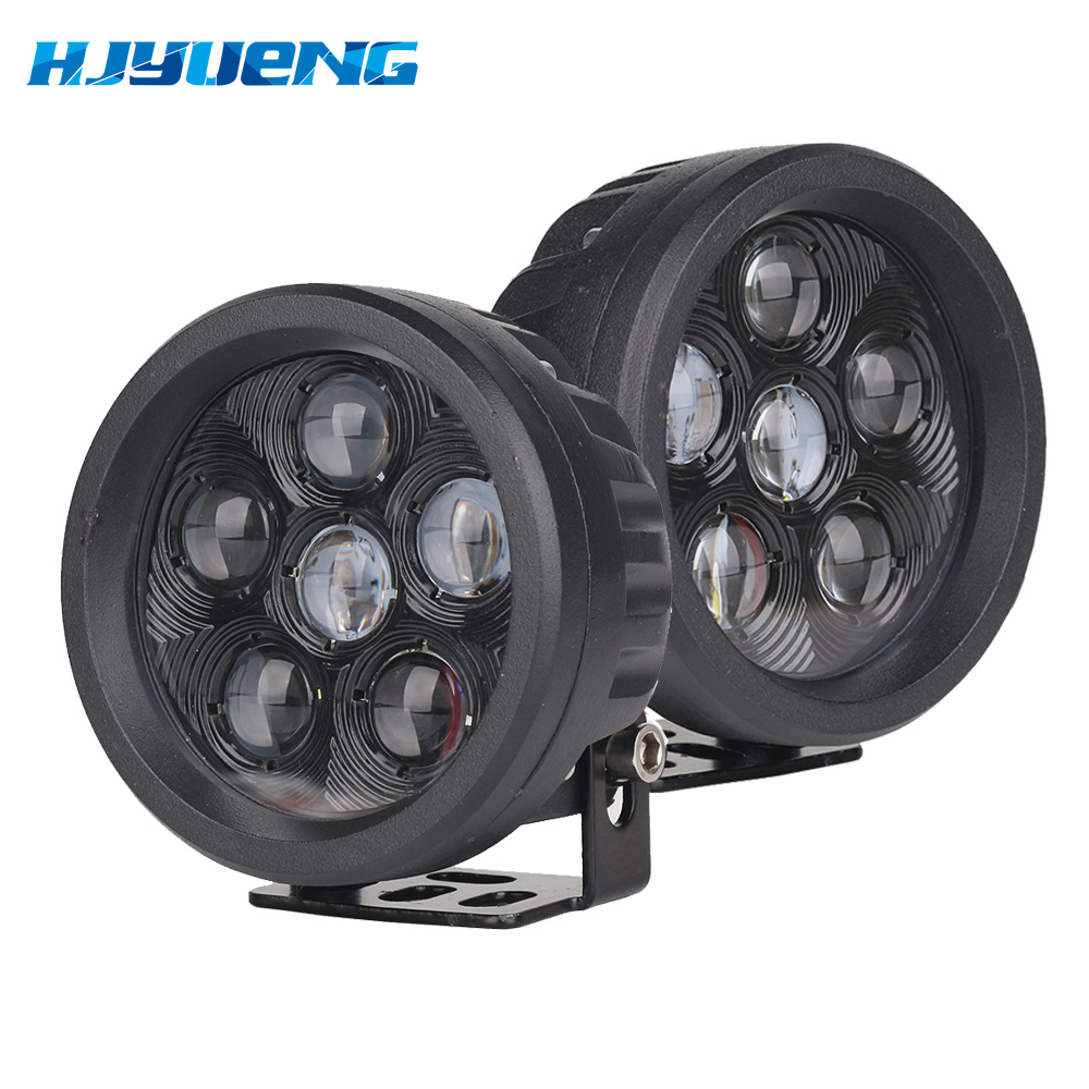 """1pc 18W 3.5"""" Round Led Work Light Off road Driving Pod Spotlight Fog lights for Jeep SUV ATV Boats Cars Trucks,Forklift,Trains-in Light Bar/Work Light from Automobiles & Motorcycles"""