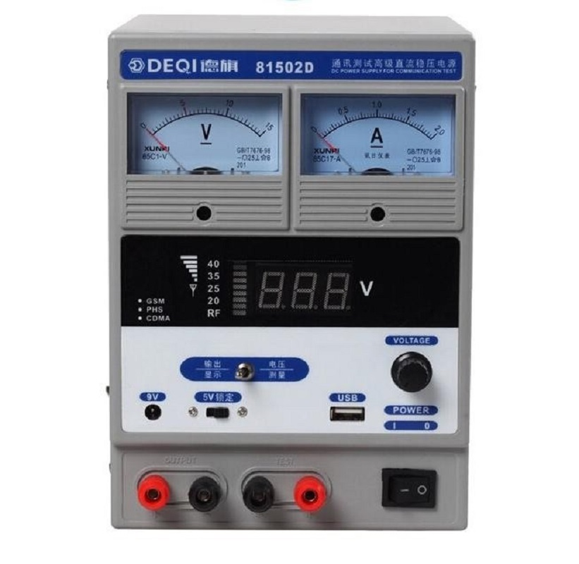 цена на 81502D digital display mobile phone repair power supply DC regulated power supply 15V 2A high current