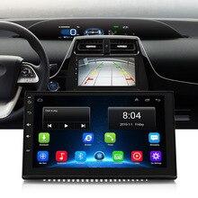 7175 м автомобиля Mp3 MP5 мультимедийный плеер Bluetooth FM WiFi/4 г gps-навигация для Android 2 г Оперативная память сзади вид рулевое колесо Управление радио