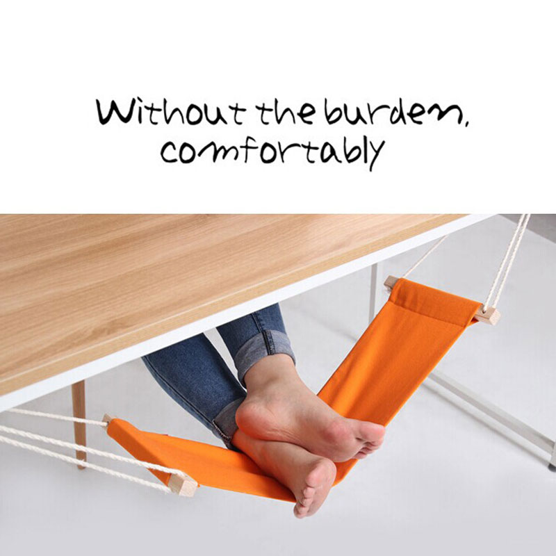Portable Light weight folding  hammock Office foot Foot hammock rest hammock ease the foot hanging on the table foot folding раскладушка therm a rest therm a rest luxurylite mesh xl