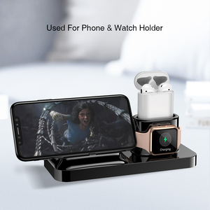 Image 5 - RAXFLY 3 ב 1 מגנטי טלפון מטען עבור iPhone Dock 3 ב 1 אלחוטי מטען עבור Airpods מטען Stand מחזיק עבור אפל שעון