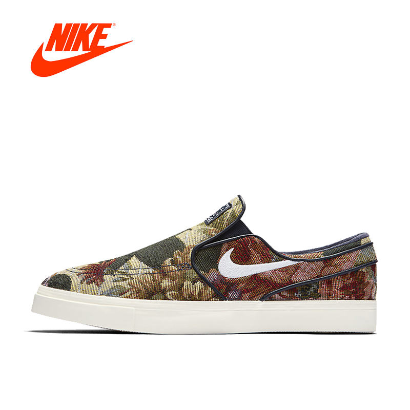 Original New Arrival Authentic Nike Zoom JANOSKI CNVS Mens Skateboarding Shoes Sports Sneakers Classique Comfortable цена 2017