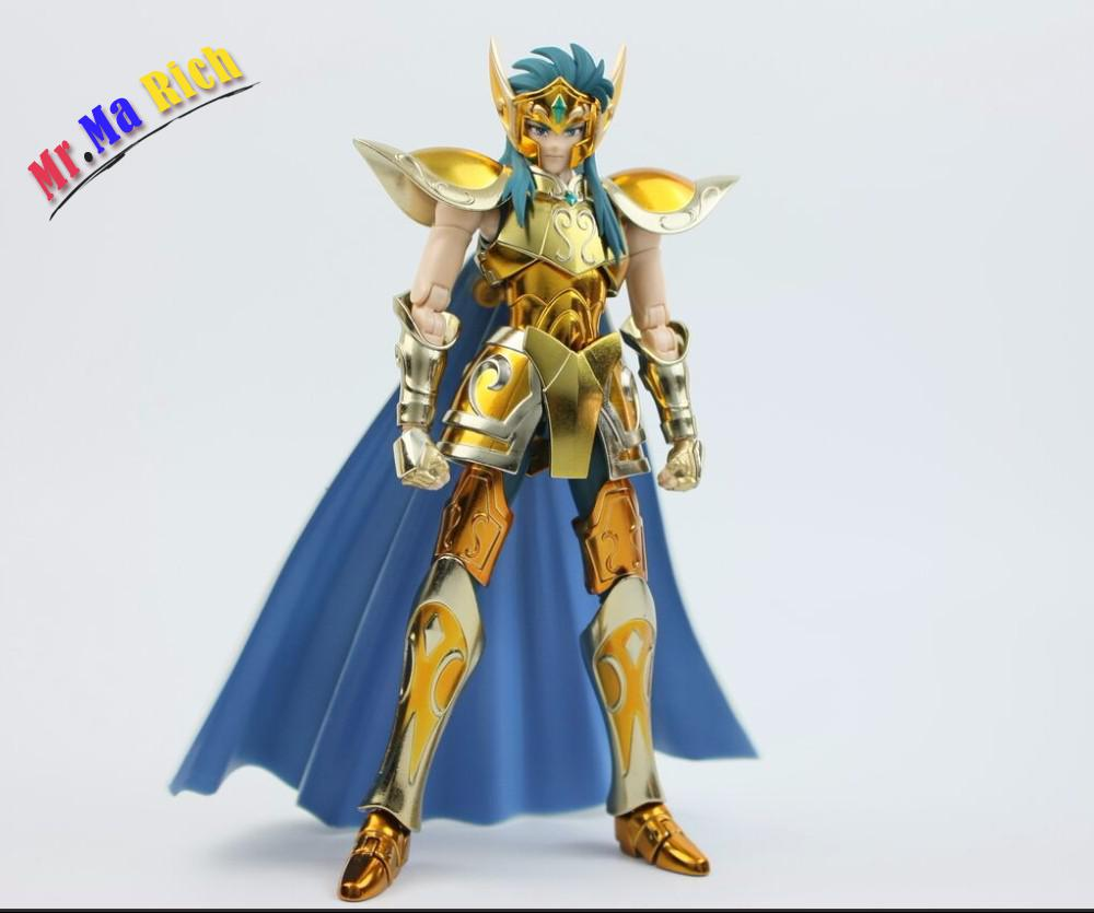 Metal Club Metalclub Aquarius Camus Saint Seiya Action Figure Doll Toy Gold Saint Cloth Myth Ex Model Gifts saint seiya myth cloth camus metal