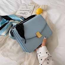 Female Crossbody Lock Bag For Women 2019 Quality PU Leather Luxury Handbag Designer Sac Main Ladies Chain Shoulder Messenger Bag