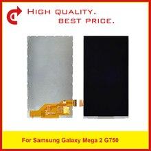 """10 قطعة/الوحدة جودة عالية 6.0 """"لسامسونج غالاكسي ميجا 2 SM G750 G750 lcd شاشة العرض شحن مجاني + تتبع كود"""