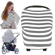 Carseat Canopy Cover - Baby Car Seat All-in-1 Nursing Breastfeeding Covers Up Canopies For Boys, Girls St