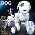 Éducatif électronique Pet Intelligent Robot chien 2.4G danse parlant drôle enfants jouet cadeau d'anniversaire Intelligent sans fil télécommande