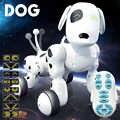 Обучающие Электронные Животные умный робот собака 2,4 г танцы говорящая Забавная детская игрушка подарок на день рождения Интеллектуальный ...