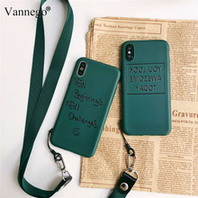 Vannego phone case for iphone X 8