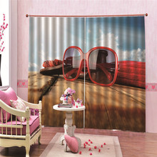 Sunglasses 170*200cm Decoration Window Curtains For Living Room Bedroom Kitchen