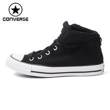 Original New Arrival 2017 Converse Women s High Top Skateboarding Shoes  Canvas Sneakers(China) 1f026fbc6051