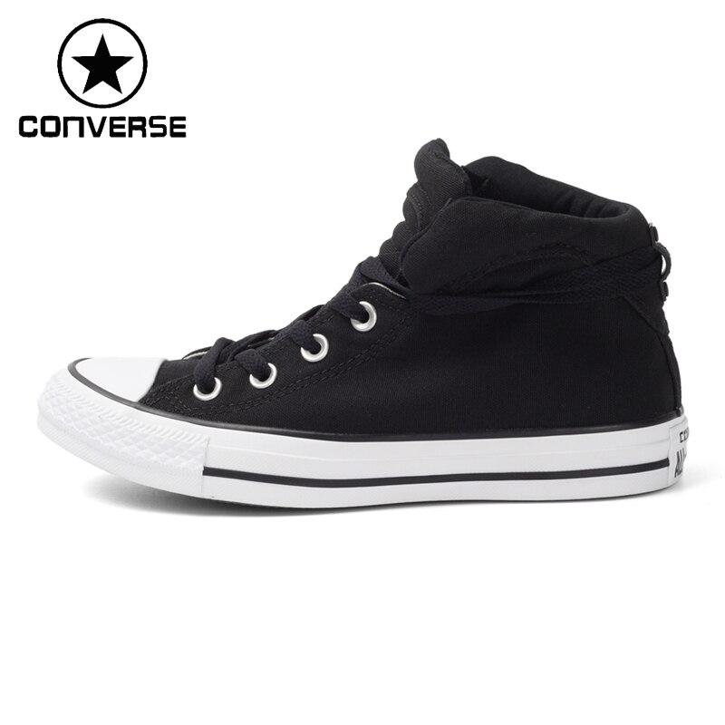 все цены на Original New Arrival Converse Women's High Top Skateboarding Shoes Canvas Sneakers онлайн