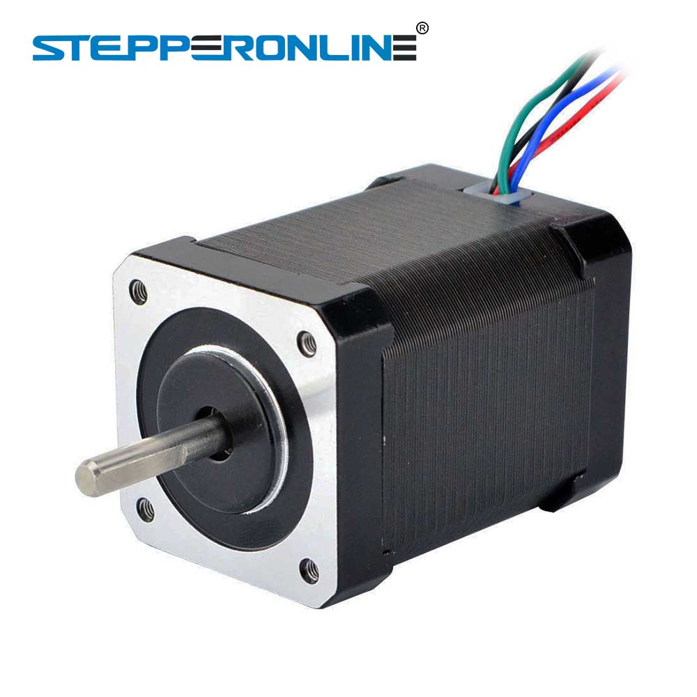 Nema 17 Stepper Motor High Torque 60Ncm(85oz.in) 42 Motor 60mm 4-lead 0.64A for CNC 3D Printer Extruder Motor kingroon 1pc 3d printer kossel 42 stepper motor 42 two phase stepper motor 1 5a high torque 1 8 degrees with 800mm motor line 0