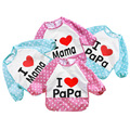 1 pic towels baby bibs Baby Clothing scarf children baby bibs waterproof baby food boy towel cotton feeding lot apron TKSJ66