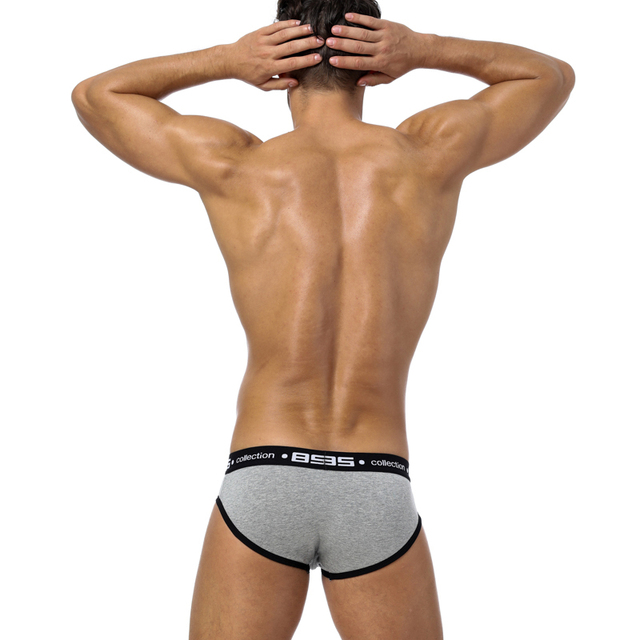 Sexy Men Underwear Briefs Men Breathable Underpants Mens Slip Briefs Brand Cueca Male Panties Mens Shorts Pure Cotton BS106