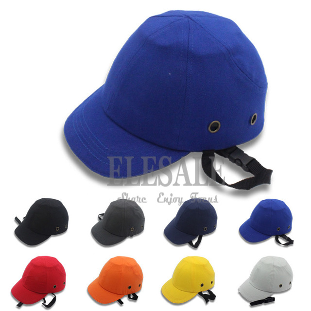 a035fcac81fc3 Safety Baseball Bump Cap Hard Hat Safety Helmet ABS Protective Shell EVA  Pad For Work Safety Protection