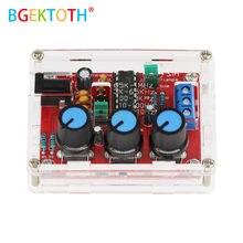 Função gerador de sinal diy kit triângulo saída 1hz-1mhz gerador de sinal amplitude de freqüência ajustável xr2206 dds