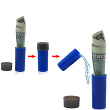 Hot Sale Magic Prop Children Adults Play Joke Gift For Kids New Eat Money Bottle Money Turns Into Water Magic Toy(China)