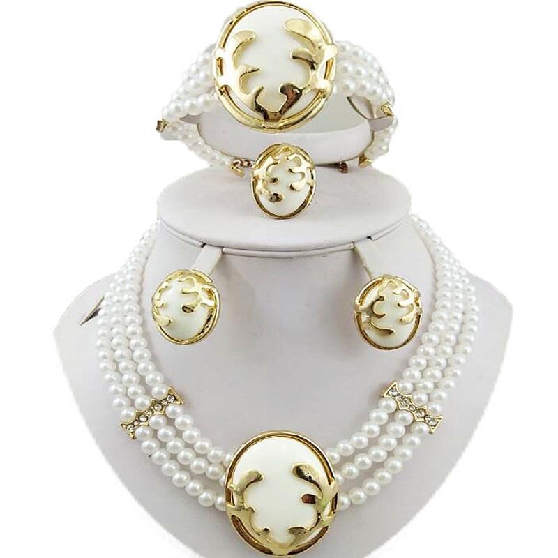Set perhiasan manik-manik african, Perhiasan pernikahan set, - Perhiasan fashion