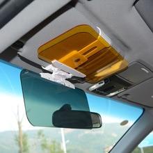 1pcs 2 in 1 HD Car Driver Sunglasses Night Vision Visors Anti-dazzle Clear Sun Visors Sun Shade Automotive Dazzling Goggles
