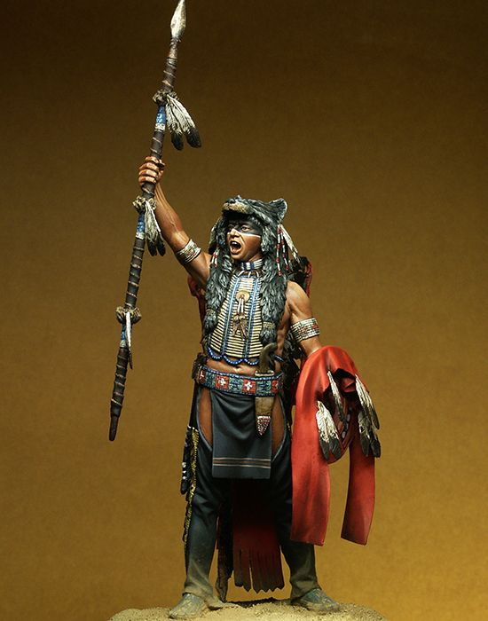 Assembly  Unpainted  Scale 1/18  Ancient Good Stand  Chief  90mm    Figure Historical  Resin Model Miniature Kit