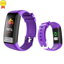 blood pressure wrist band heart rate monitor PPG ECG smart bracelet fitness tracker Sport watches for apple xiaomi 4