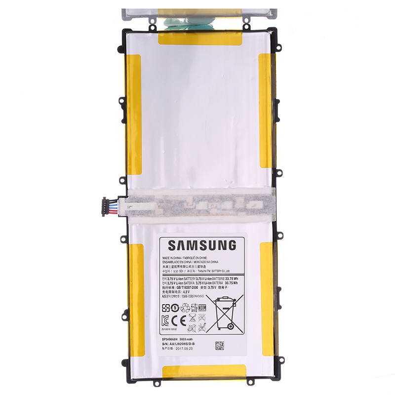 SAMSUNG Original Rechargeable Battery For Samsung Google Nexus 10 Authentic Tablet Battery SP3496A8H 9000mAh GT-P8110 HA32ARB