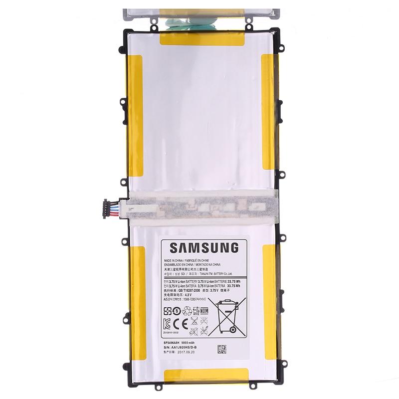 Samsung оригинальный Перезаряжаемые Батарея для samsung Google Nexus 10 подлинными Tablet Батарея SP3496A8H 9000 мАч GT-P8110 HA32ARB