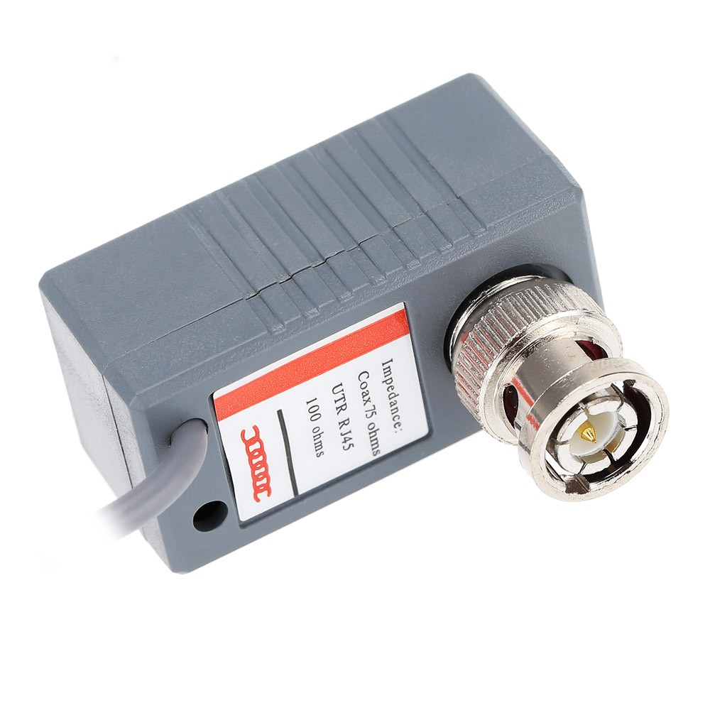 Surveillance Camera Balun ABS Plastic Transceiver BNC UTP RJ45 Video ...