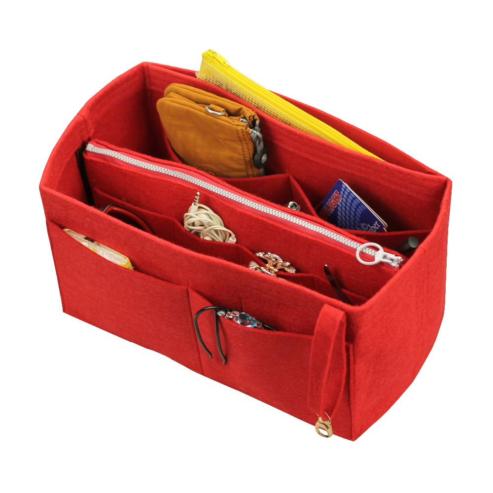 Customizable Tote Organizer (w/ Detachable Zip Pocket) Neverfull MM GM PM Speedy 30 25 35 40 Purse Insert Diaper Belongings