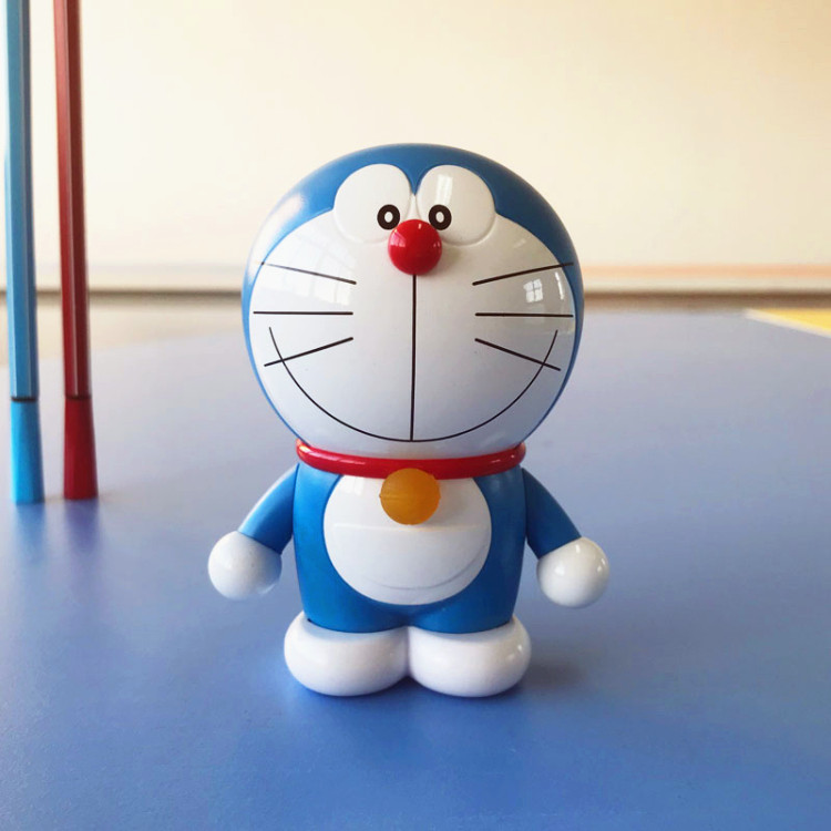 iconstel New Rock Doraemon Mini <font><b>Bluetooth</b></font> <font><b>speaker</b></font> Robot <font><b>Cat</b></font> Doll Portable Wireless Music Player Desktop decoration gift image