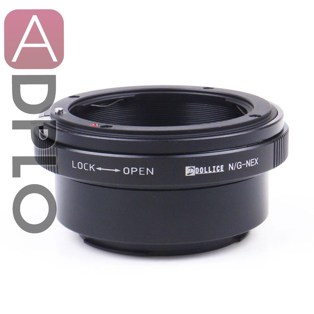 Dollice Mount Adapter Anzug Für Nikon F Mount G Objektiv Sony E Berg NEX Kamera A5100 A6000 A5000 A3000 NEX-5T NEX-3N NEX-6 NEX-5