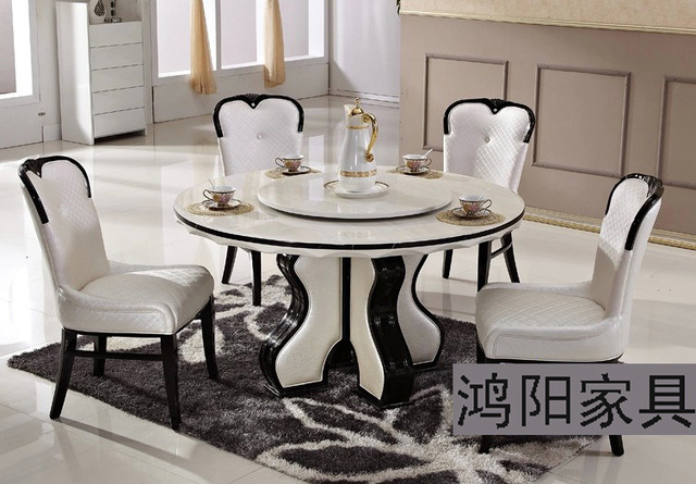 ikea white marble dining table round table turntable solid wood dining table and chairs garden. Black Bedroom Furniture Sets. Home Design Ideas
