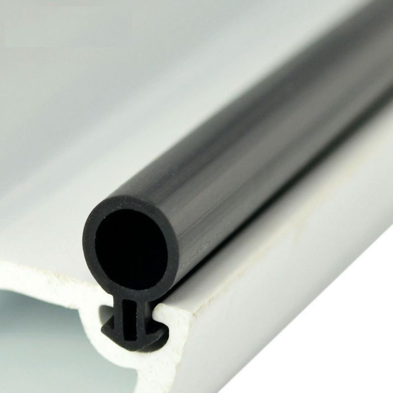 Silicon Rubber Door Window Seals Draft Stopper Hollow Bulb Barb Tubular Gasket 5x11mm 5x13mm White Black Transparent in Sealing Strips from Home Improvement
