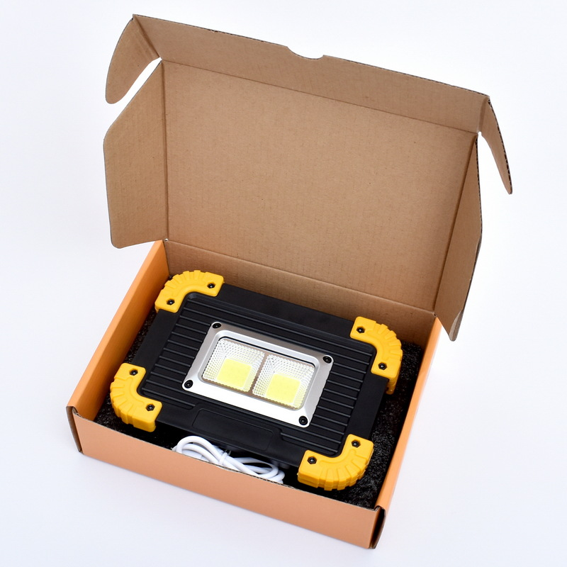 ARILUX GM812 2x20W COB 4 Modes Rechargeable Work Light Portable Outdoor Mobile Power Bank NEWARILUX GM812 2x20W COB 4 Modes Rechargeable Work Light Portable Outdoor Mobile Power Bank NEW