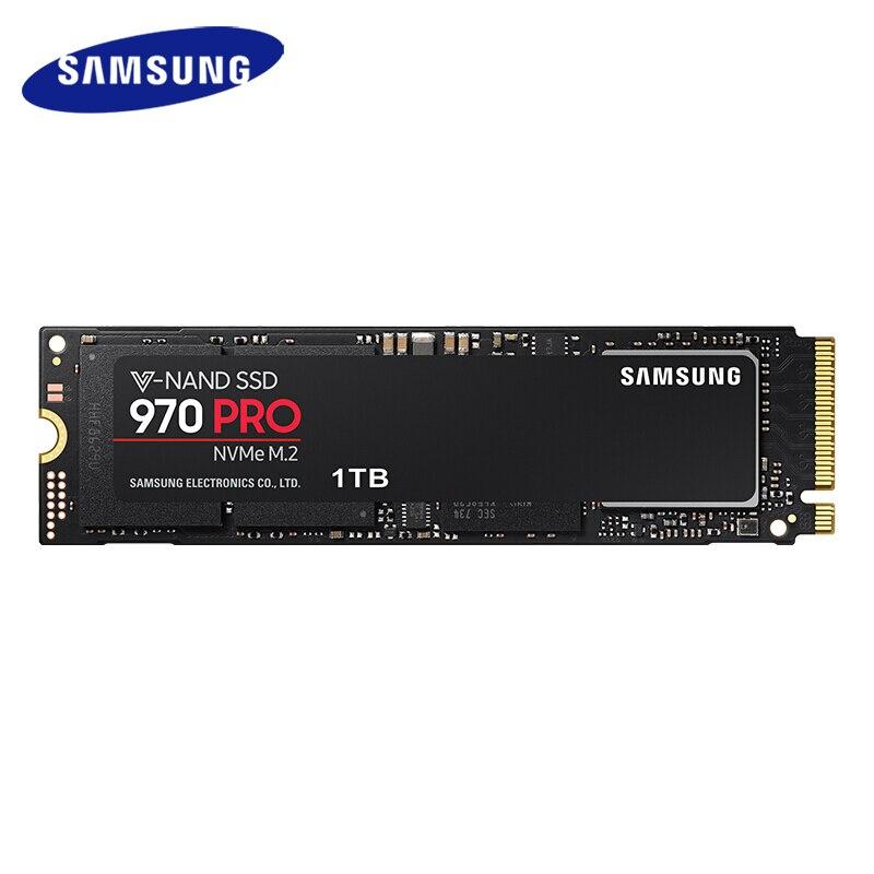 Samsung 970 PRO M.2(2280) 512GB 1TB SSD nvme pcie Internal Solid State Disk HDD Hard Drive inch Laptop Desktop MLC PC DiskInternal Solid State Drives   -