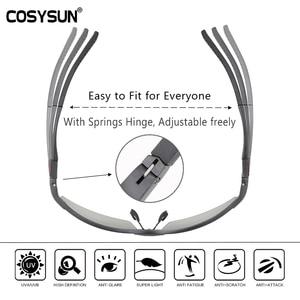 Image 2 - Мужские солнцезащитные очки для вождения COSYSUN, поляризационные очки с фотохромными линзами, алюминиевые спортивные очки, прозрачные очки Хамелеон CS121