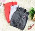 Бесплатная доставка весна осень мальчик детская одежда torx флаг 100% хлопок тканые пряжки ребенка жилет