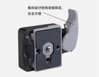 2で1 200pl-plユニバーサルクイックリリースプレートカメラクイックリリースクランプア