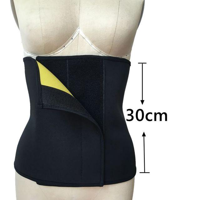 Neoprene Slimming Belt Sweat Women Body Tummy Shaper Belly Underwear Adjustable Excercise Fitness Sports Tops Gym Running 3