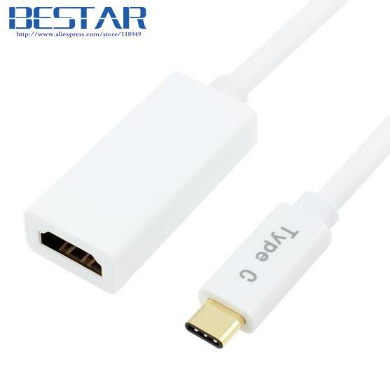 4K * 2K USB-C Tipo C Adaptador de audio y video AV digital, USB3.1 - Cables de computadora y conectores - foto 3