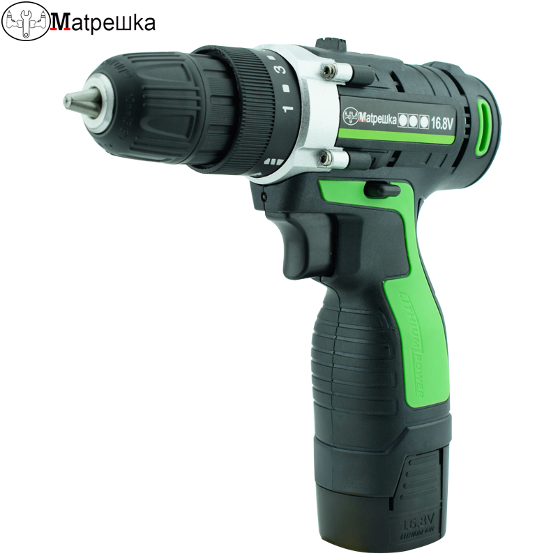 16.8V Power Tools Electric Cordless Drill Batteries Screwdriver Mini Drill Screw Gun Electric Tools Rechargeable Screwdriver pro union upt 32007d portable electric screwdriver screw gun power tools parafusadeira with 2pcs electric screwdriver head