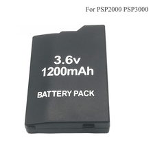 купить 3.6V 1200mAh Battery Pack for Sony PSP2000 PSP 2000 PSP3000 PSP 3000 PSP-S110 PlayStation Portable Rechargeable Batteries онлайн